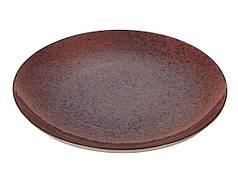 Набір тарілок Farn без борту d 310 мм Коричневий (269706)