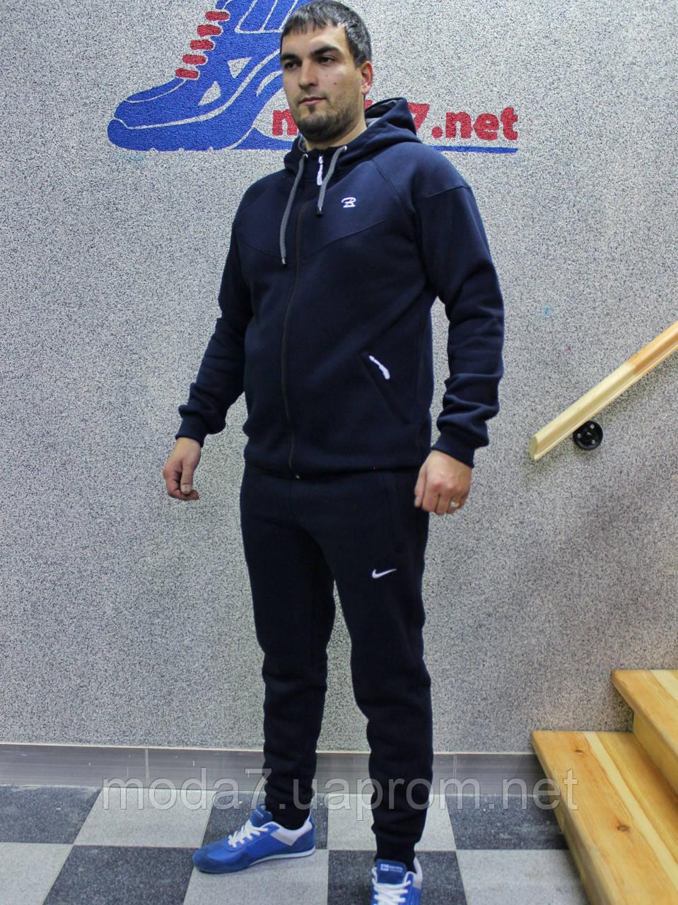 Мужской утепленный спортивный костюм Nike Турция реплика