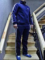 Мужской утепленный спортивный костюм Adidas батал 54-60р  реплика
