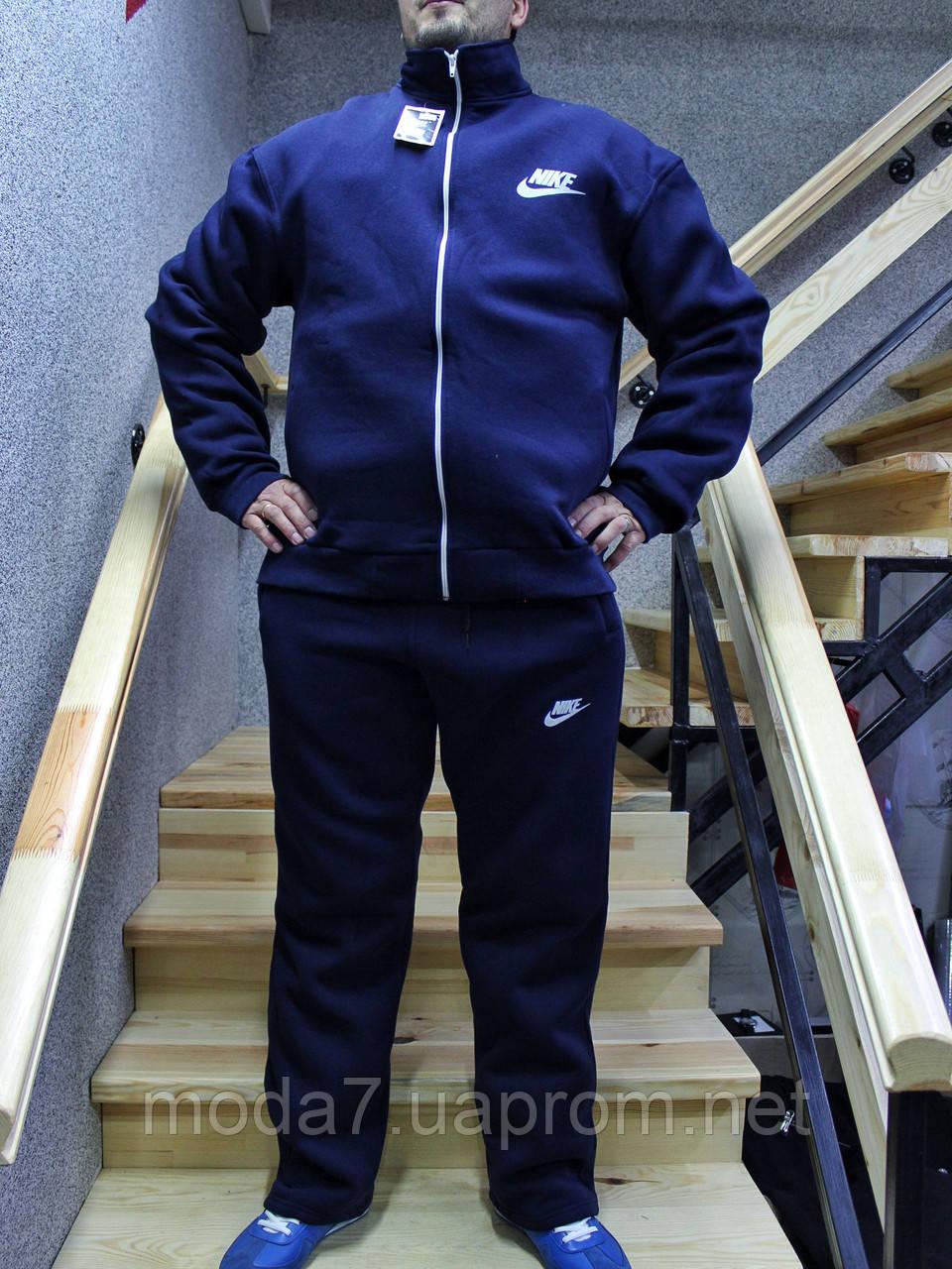 84a44159 Мужской зимний спортивный костюм Nike батал 56р-62р реплика -  Интернет-Магазин
