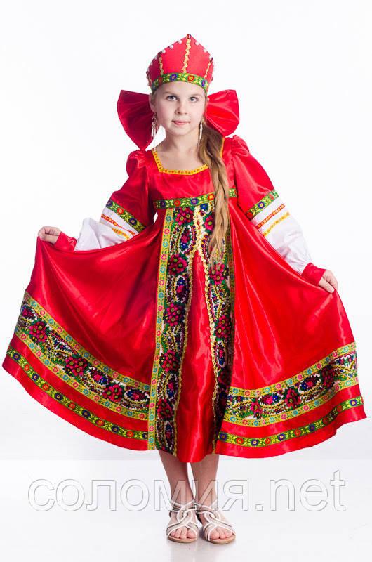 Детский карнавальный костюм для девочки Аленушка 110-152р
