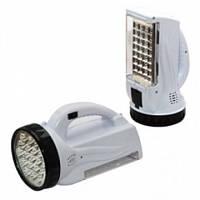 Аккумуляторный светодиодный фонарь Yajia YJ-222, 19+28LED,походные фонари,переносные светильники