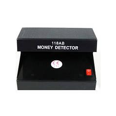 Детектор Валют AD-118AB УФ Лампа для Денег от сети Черный (44320)
