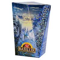 Чай зеленый Basilur Зимняя фантазия Зимняя лоза картон 85г