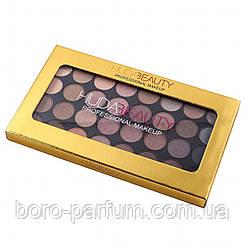 Палитра теней Huda Beauty Rose Professional Makeup (32 цвета)