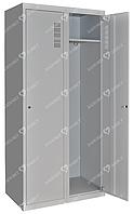 Шкаф для халатов медицинский двухстворчатый ШХМ-2, 800*400*1800 мм.