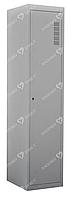 Шкаф для халатов медицинский одностворчатый  ШХМ-1, 500*400*1800 мм.