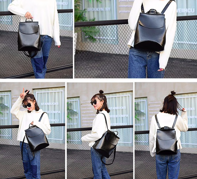 1d9413603fcf Подкладка нейлоновая ткань. Фурнитура выполнена в металлическом цвете.  Задний карман на молнии. Сверху по бокам рюкзак-сумка закрывается на кнопки.