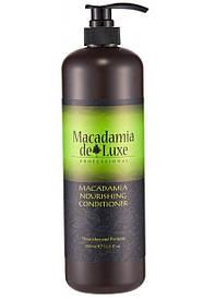 Питательный кондиционер для волос с маслом макадамии De Luxe Macadamia Nourishing Conditioner 1000 ml