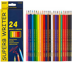 Акварельные цветные карандаши Marco 24 цвета (hub_xQFx95469)