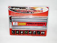 Преобразователь авто инвертор 12V-220V 2000W, фото 1