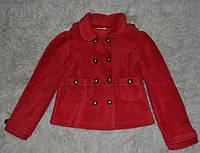 Піджак, жакет для дівчинки. стан супер. 110-116іст товстий фліс