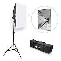 Комплект ESDDI PS025 (софтбокс, стойка, лампа - сумка для переноски)
