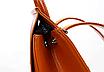 Рюкзак женский кожзам трансформер classik glamur Красный, фото 6
