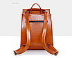 Рюкзак женский кожзам трансформер classik glamur Красный, фото 3