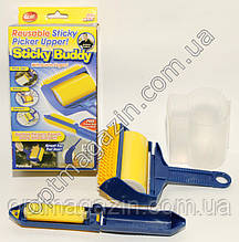 Щетка для чистки одежды ковра Sticky Buddy Стики Бадди валик
