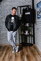 Куртка-бомбер Philipp Plein, утепленный череп, фото 1