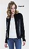 Женская куртка черного цвета Desulo 004 Zaps