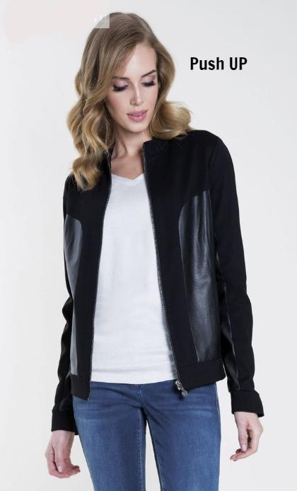 Женская куртка черного цвета Desulo 004 Zaps, фото 1