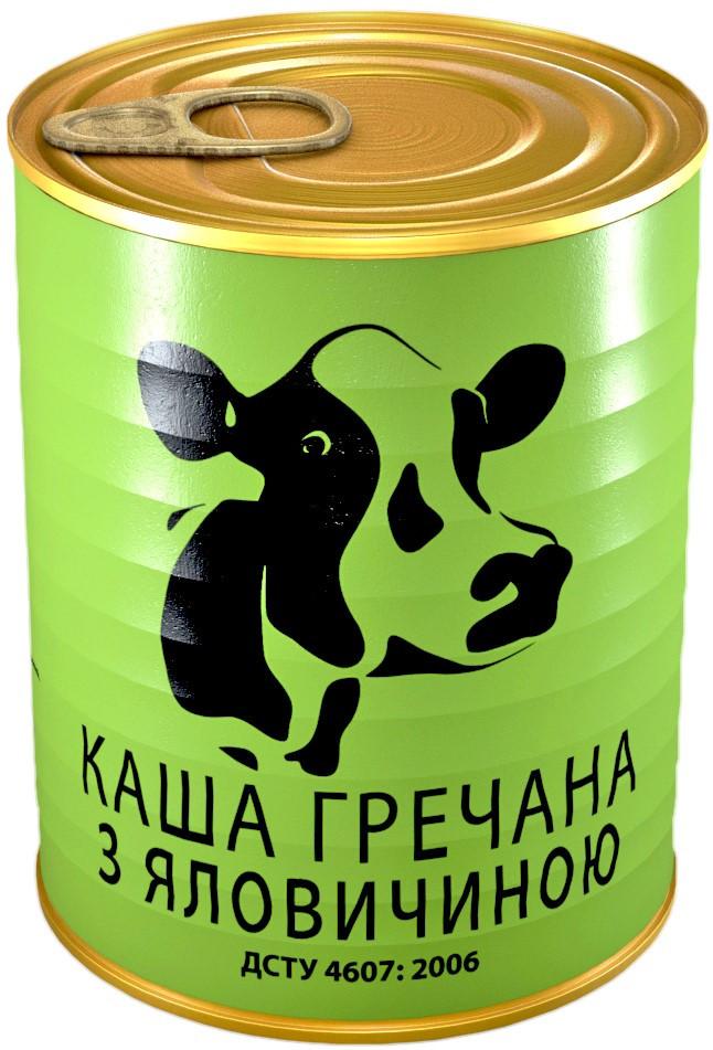 Каша гречневая с говядиной 388 гр. (24 банки)
