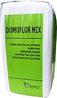Торф'яний субстрат Домофлор мікс 4 / DOMOFLOR MIX 4 фракція 0-10 мм