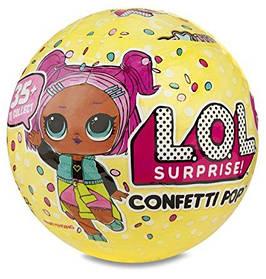 Кукла шар LOL Pop Confetti ЛОЛ поп конфетти сюрприз в шаре игровой набор реплика