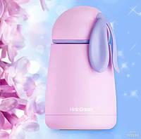 Детский термос с ушками Hello Dream розовый