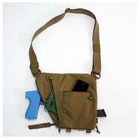 Сумка на плечевом ремне тактическая военная городская Under Arm Bag койот