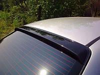 Chevrolet Aveo T200 Задний козырек (FLY, ABS-пластик)
