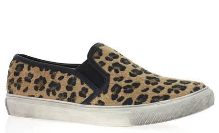 Стильные женские слипоны с леопардовым принтом! Очень легкие и удобные!