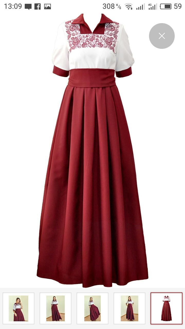 ВБ-7. Вишита жіноче плаття(вишиванка)