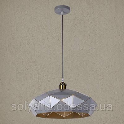 Люстра подвес  Loft 7529522 (серый) (41см)