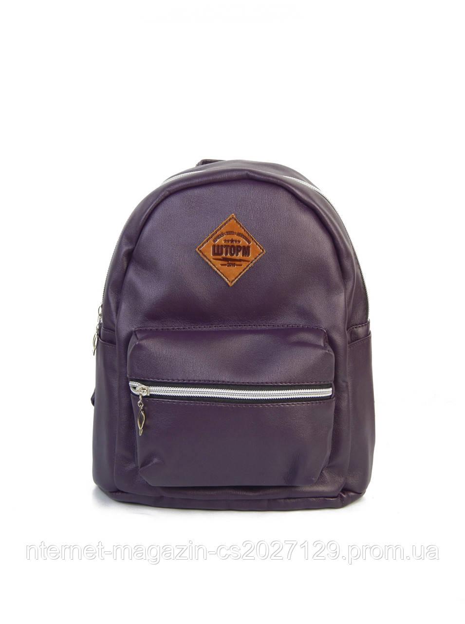 Женский летний рюкзак фиолетового цвета Шторм Summerbag
