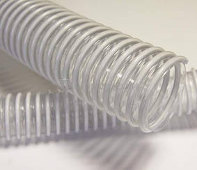 Рукав ПВХ напорно-всасывающий с ПВХ спиралью