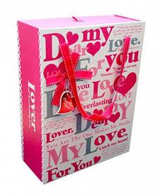 9040190 Комплект из 3-х коробок Dear my love Розовый