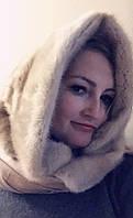 Платок , норка Норковый платок палантин!, фото 1