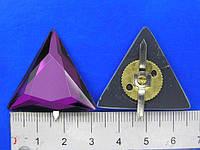 Прокол треугольник стеклянный , фото 1