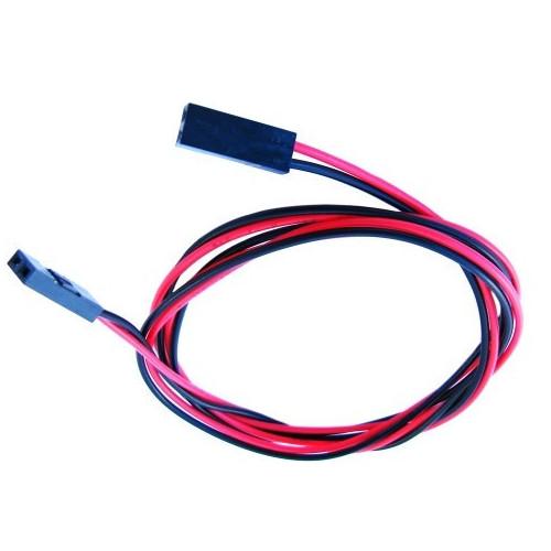 Двухконтактный кабель для 3D-принтера (мама-мама) 70см