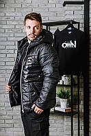 Куртка Nike (Найк) AIR с белой змейкой