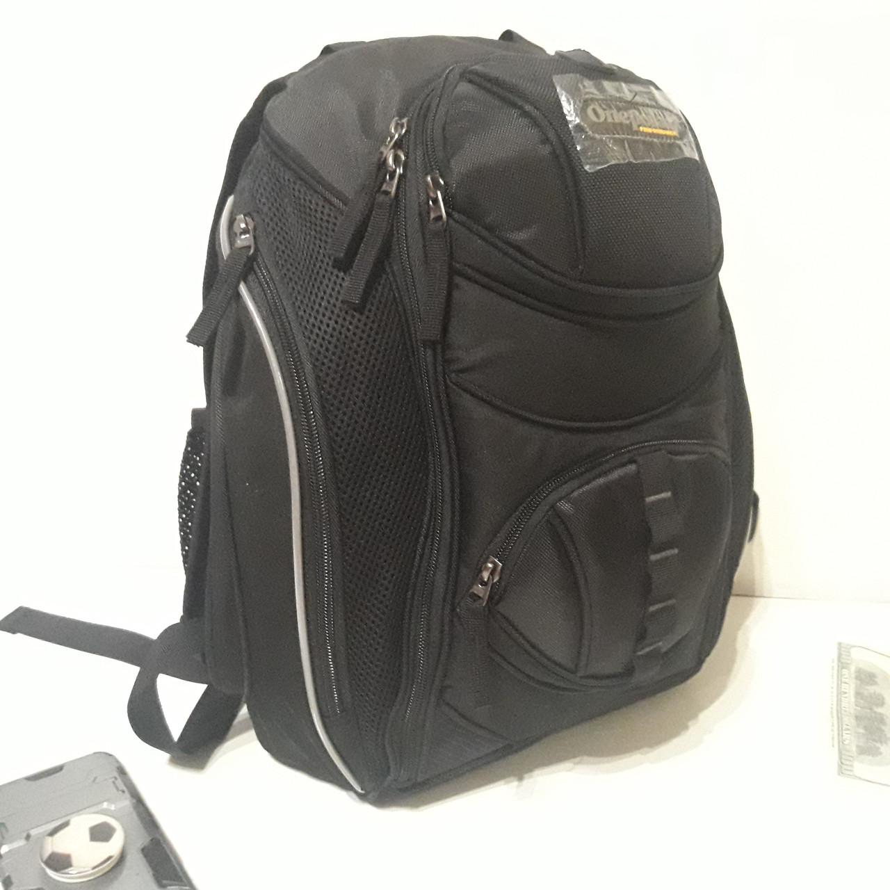 Рюкзак Onepolar W1284 черный городской школьный надежный