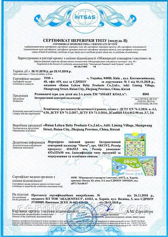 Оцінка відповідності (оформлення сертифіката типу і декларації) інтерактивних розвиваючих іграшок для дітей, фото 2