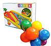 """Детский игровой надувной центр """" Аквапарк """"  с  надувными кольцами, игрушками  и горкой, шарики  10 шт., фото 10"""