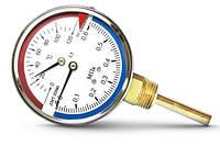 Манометры с термометром ДМТ, фото 1