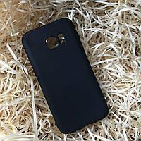Чехол силиконовый Soft touch для Samsung S7, Black
