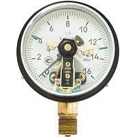 Манометр электроконтактный ДМ-2010-У2, 0...600 кгс/см2, 1,5, фото 1