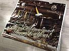 Новорічний пакет з пластиковою ручкою (зібраний) 37*34, 10 шт, фото 2