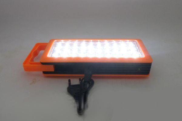 Аккумуляторная светодиодная панель YJ-6823, 30LED,походные фонари,переносные светильники