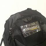 Школьный рюкзак Onepolar W1284 черный качественный городской надежный, фото 2