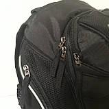 Школьный рюкзак Onepolar W1284 черный качественный городской надежный, фото 3