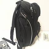 Школьный рюкзак Onepolar W1284 черный качественный городской надежный, фото 4